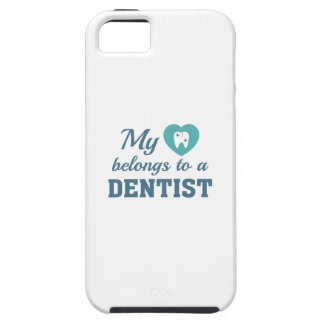 Heart Belongs Dentist iPhone 5 Cases