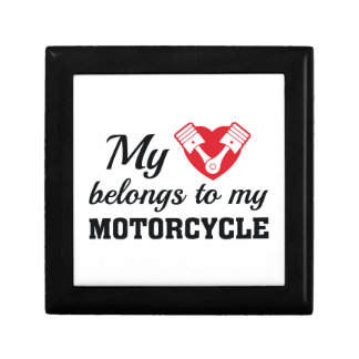 Heart Belongs Motorcycle Gift Box