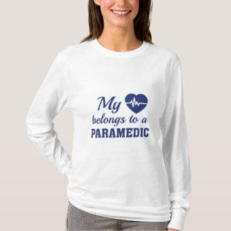 Heart Belongs Paramedic T-Shirt