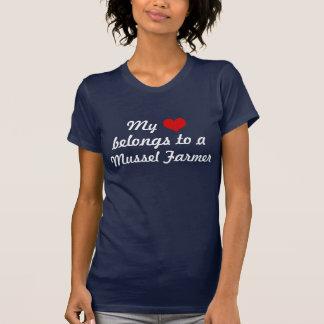 Heart belongs to a Mussel Farmer T-Shirt