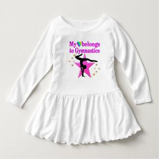 HEART BELONGS TO GYMNASTICS DRESS