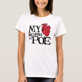 Heart Belongs to Poe Women's T-Shirt