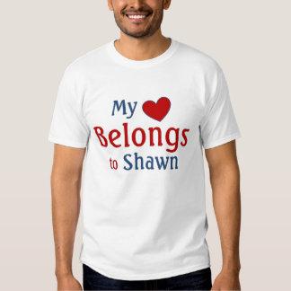 heart belongs to Shawn Tshirt