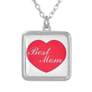 Heart Best Mom Necklace