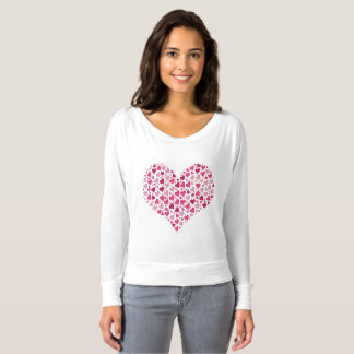 Heart blouse for mother, wife, sister, daughter T-Shirt