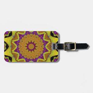 Heart Box Sun Gold Luggage Tag