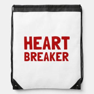 Heart Breaker Drawstring Backpack