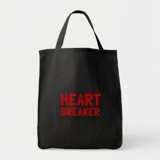Heart Breaker Grocery Tote Bag