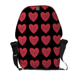 Heart Breaker Messenger Bag