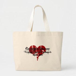 Heart Breaker Canvas Bag