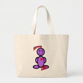 Heart-breaker (with logos) tote bag