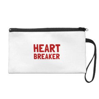 Heart Breaker Wristlet Clutches