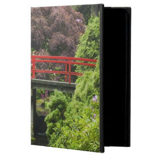 Heart Bridge with blossoming rhododendrons, Cover For iPad Air