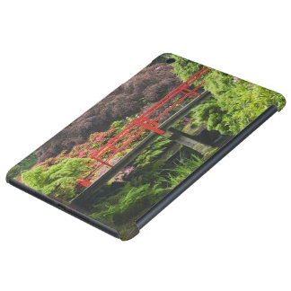 Heart Bridge with blossoming rhododendrons, iPad Mini Retina Covers