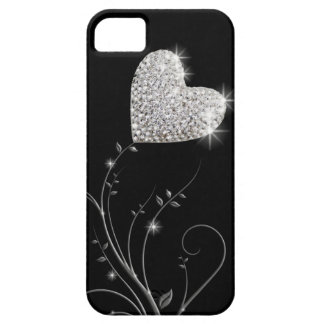 Heart brilliant love flower iPhone 5 cases