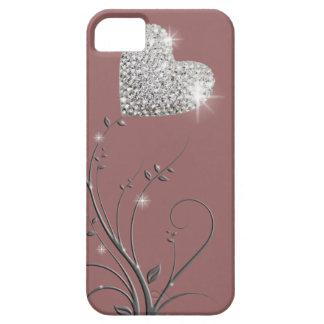 Heart brilliant lovely design iPhone 5 case