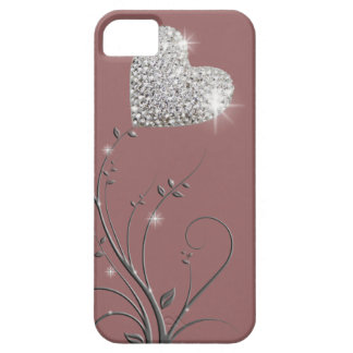 Heart brilliant lovely design iPhone 5 cover