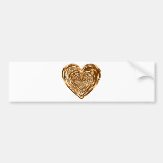 heart bumper sticker