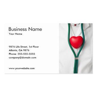 Heart Business Card Template