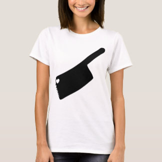 Heart Butcher Knife T-Shirt