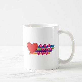 Heart & Buttons Mugs