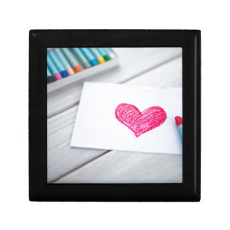 Heart Card Pastels Figure Valentine's Day Love Gift Box