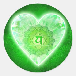 Heart Chakra stickers