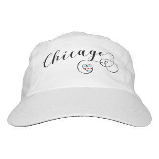 Heart Chicago Cap Hat. Illinois