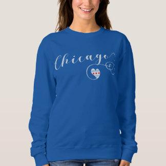 Heart Chicago Sweatshirt, Illinois Sweatshirt
