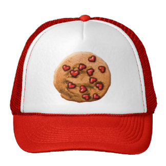 Heart Chip Cookie Mesh Hat