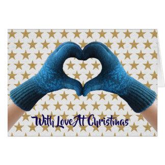 """""""Heart Christmas Card"""