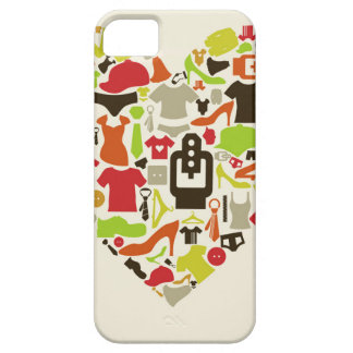 Heart clothes2 iPhone 5 case