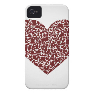 Heart clothes iPhone 4 Case-Mate cases