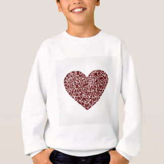 Heart clothes sweatshirt