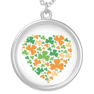 Heart Clover - necklace