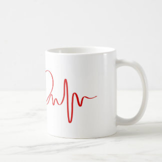heart coffee mug