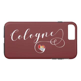 Heart Cologne Cell Phone Case, Köln iPhone 8 Plus/7 Plus Case