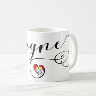 Heart Cologne Mug, Köln Coffee Mug