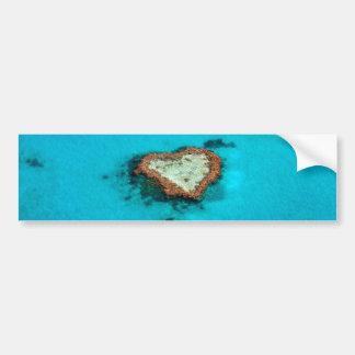Heart Coral Reef Bumper Sticker