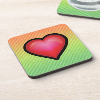 Heart Drink Coasters