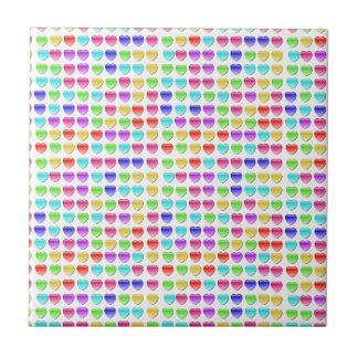 Heart Crash Games Small Square Tile