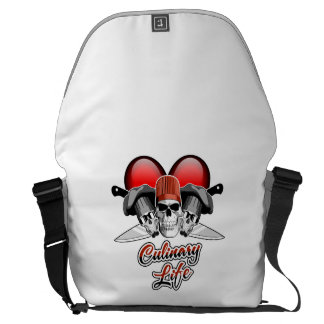Heart Culinary Life: Chef Messenger Bags