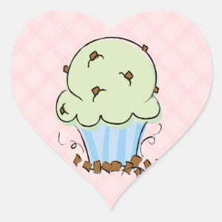 Heart Cupcake Reward Stickers