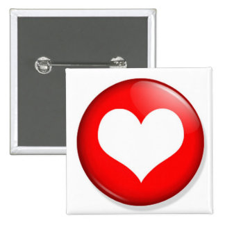 Heart Cut Out Pin