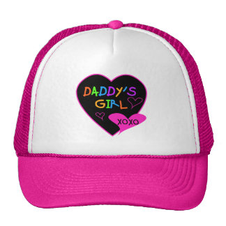 Heart Daddy's Girl T Shirts and Gifts Cap