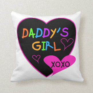 Heart Daddy's Girl T Shirts and Gifts Cushion
