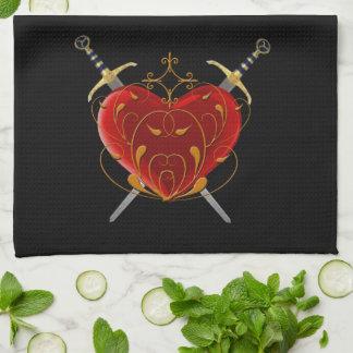 Heart & Daggers Kitchen Towel