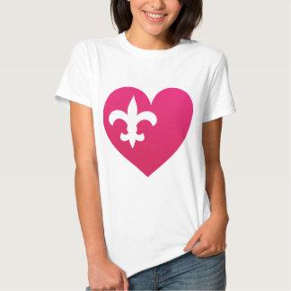 Heart de Lis T Shirt