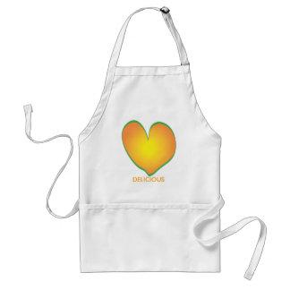 heart, DELICIOUS Standard Apron