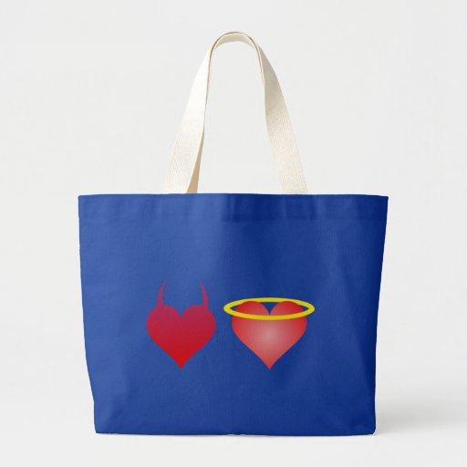 Heart devil angel hearts devil fishing rod bag